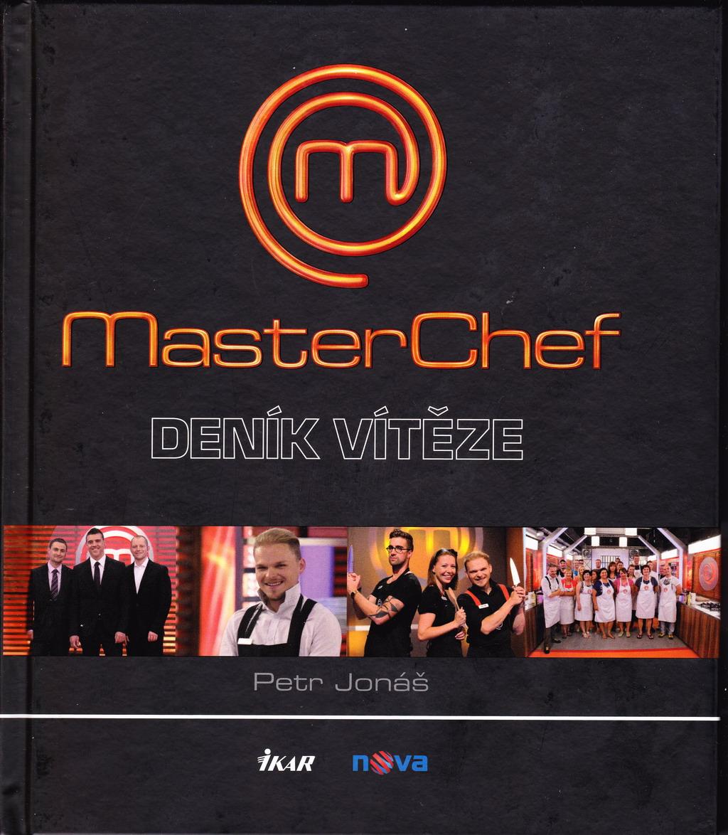 Získejte zdarma knihu Masterchef - deník vítěze